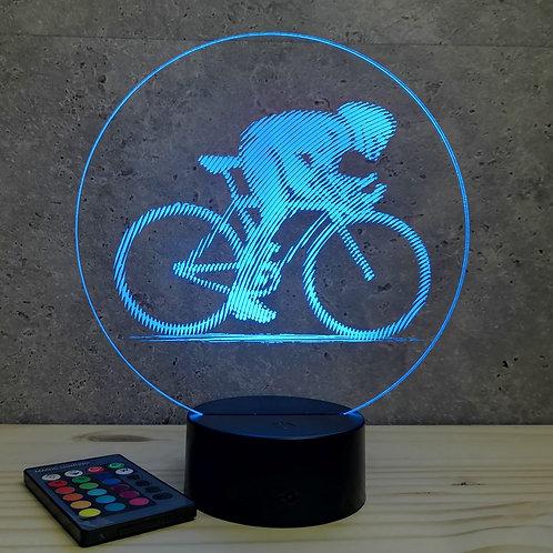 Lampe illusion Sprinteur personnalisable 16 couleurs led RGB & télécommande