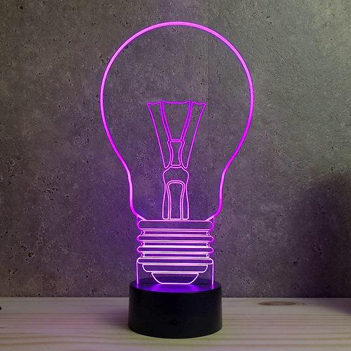 Lampe illusion 3d led Ampoule Bulbe