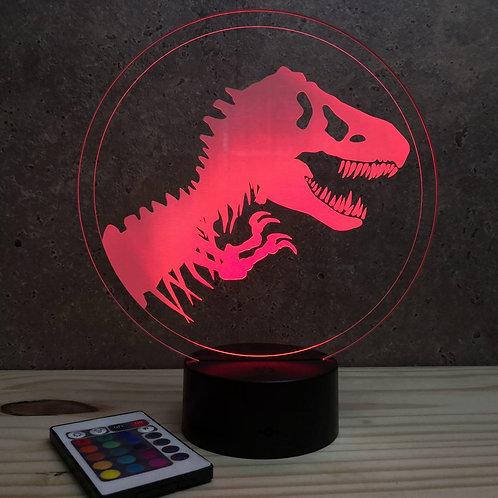 Lampe Jurassic personnalisable 16 couleurs led RGB & télécommande