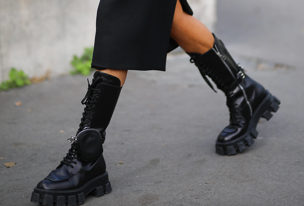 How to  Wear Combat Style Booties.