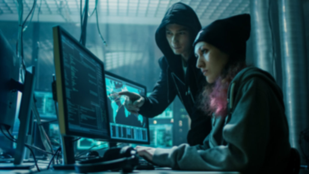 Team of Boy and Girl Hackers Organize Ad