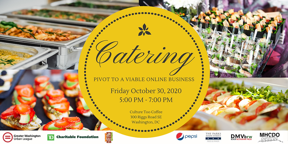 Catering: Pivot to a Viable Online Business