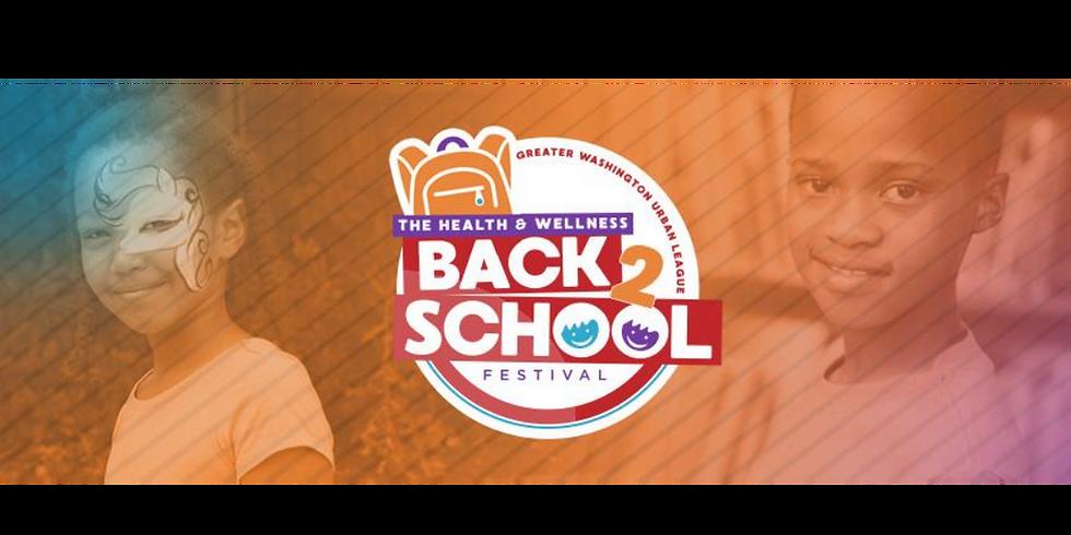 Virtual Health & Wellness Back 2 School Community Festival
