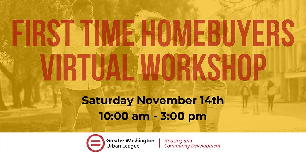 First Time Homebuyers Virtual Workshop