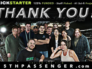 5th Passenger Fully Funded on Kickstarter!!!