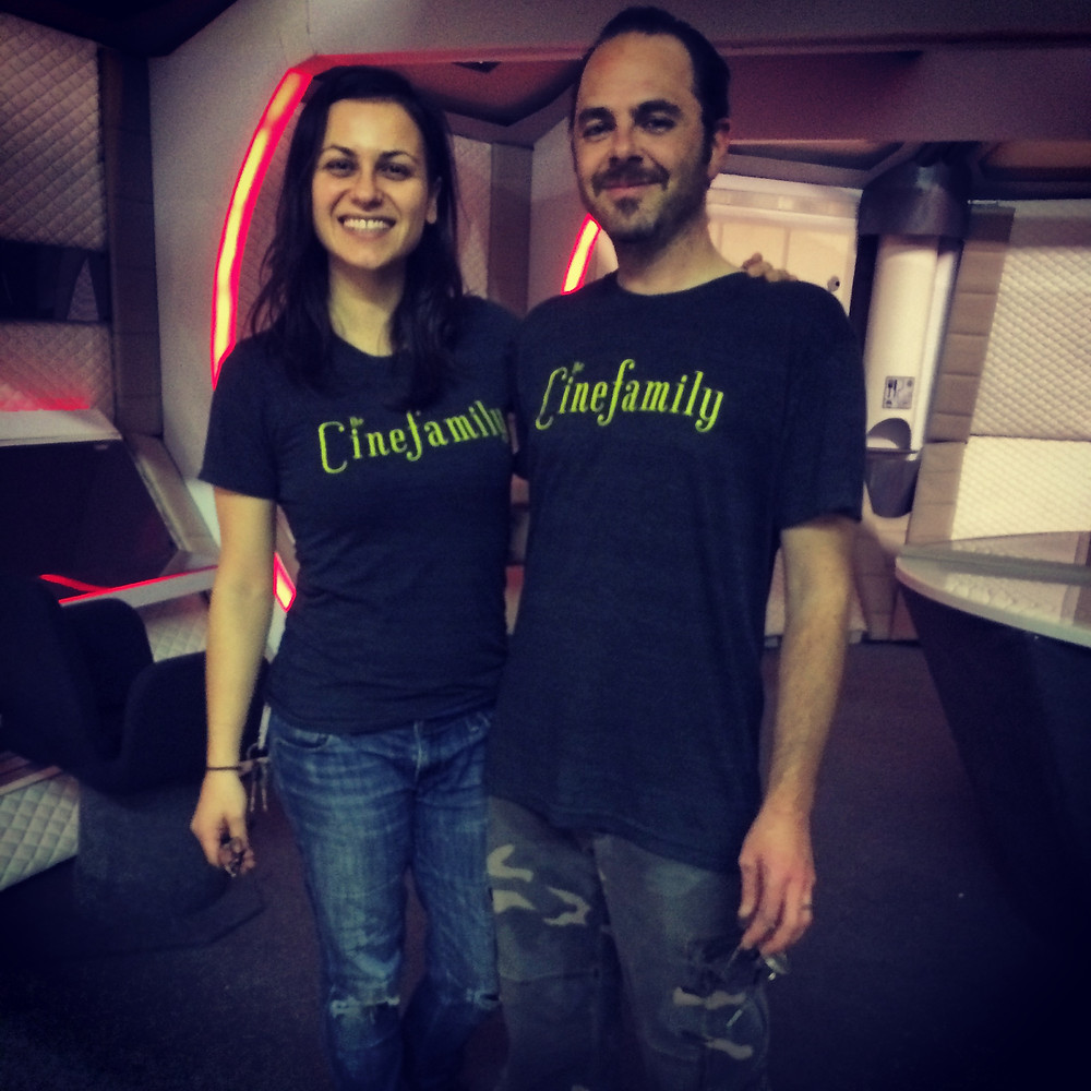 Our super talented DP Ioana and Director Scott just happened to be wearing the same shirt