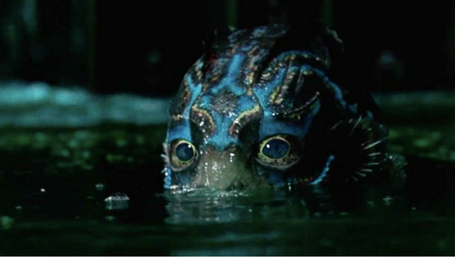 Doug Jones in Guillermo del Toro's Shape of Water