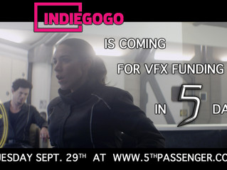 Phase 2: VFX Starts on Tuesday!