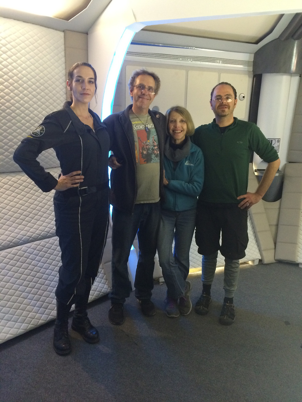 Marc and Elaine Zicree of Space Command came by for a visit