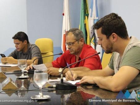 Vereador anuncia desligamento da mesa diretora da Câmara de Barroso