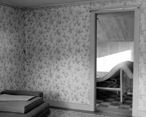 House interior (attic), taken from the s