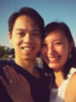 Thien and his wife, Julie.