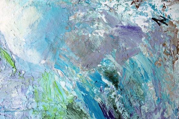 Monet Mountains Close Up 5