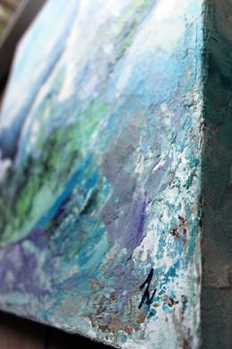 Monet Mountains Close Up 1