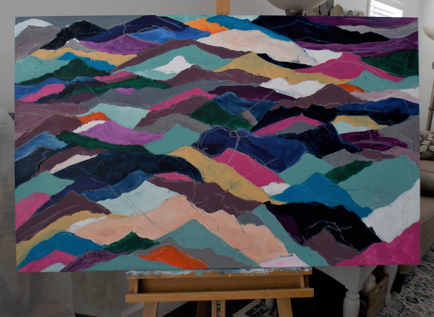 Colored Mountains