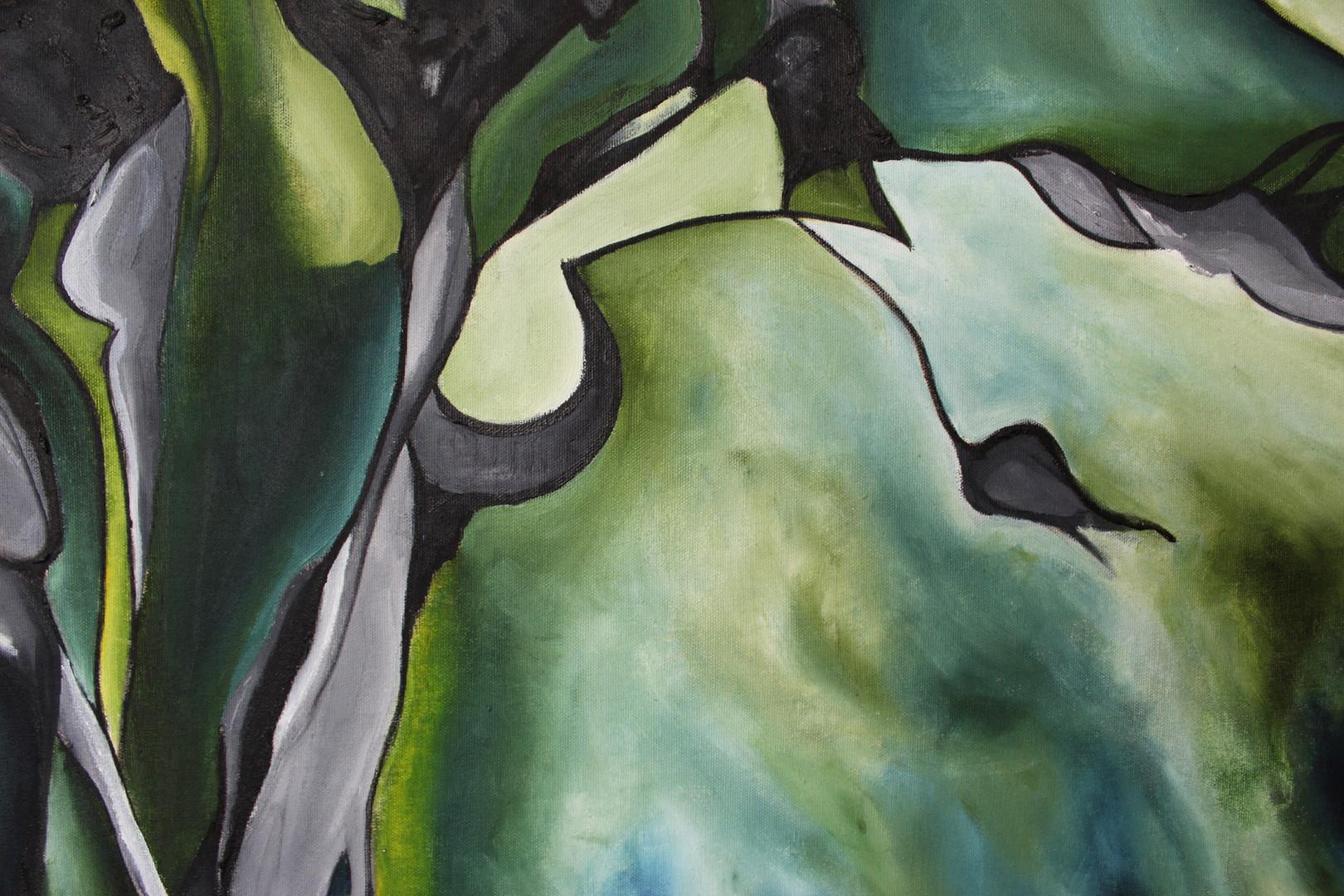 Green Tree Close Up