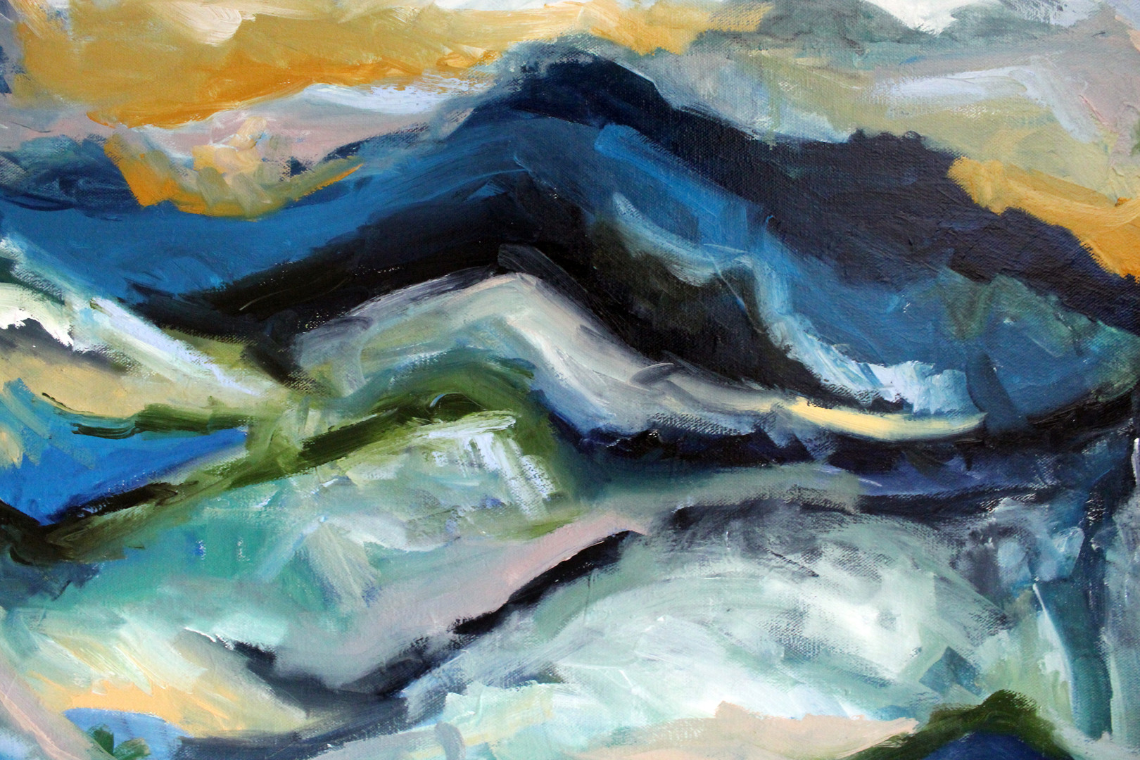 Mountain Expression Close Up 2