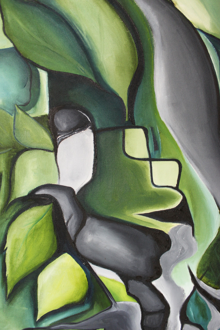 Green Tree Close Up 2