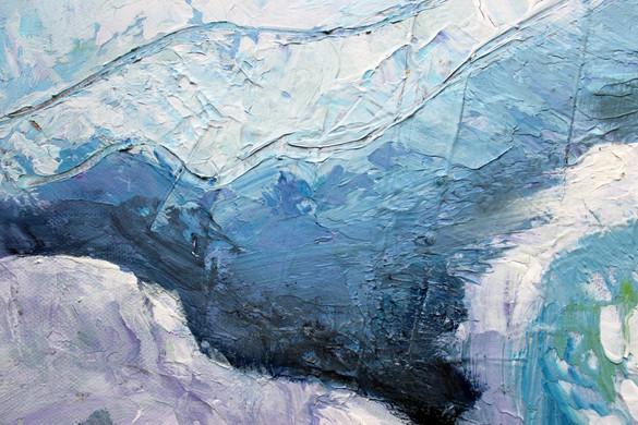 Monet Mountains Close Up 2