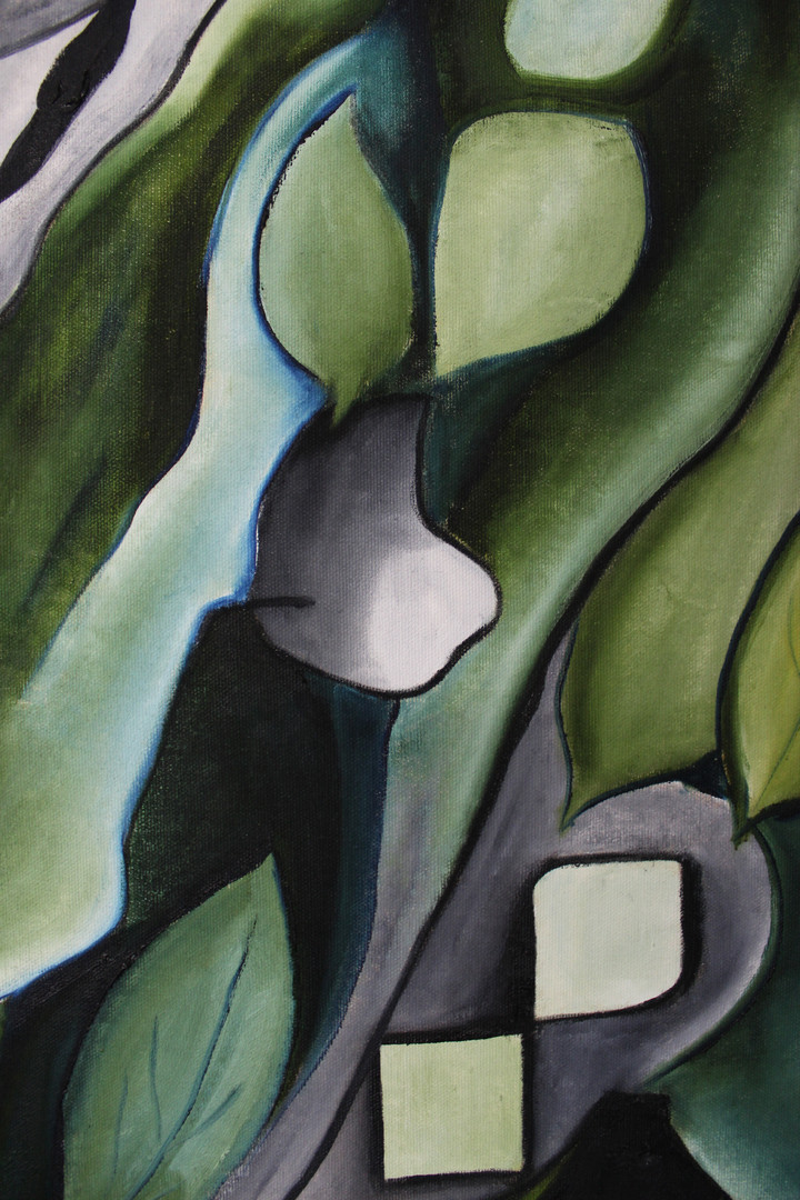 Green Tree Close Up 3