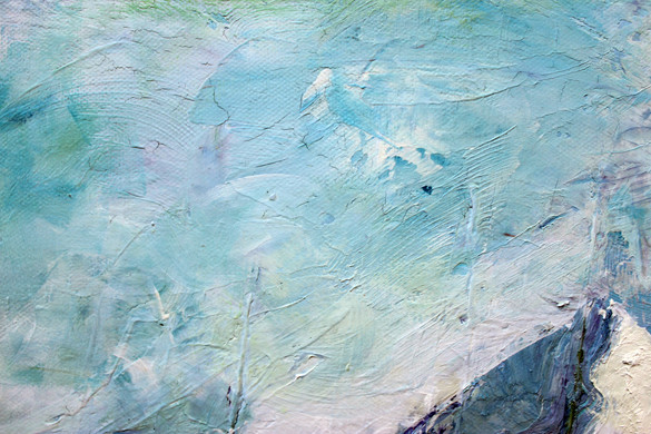 Monet Mountains Close Up 3