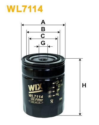 WIX WL7114