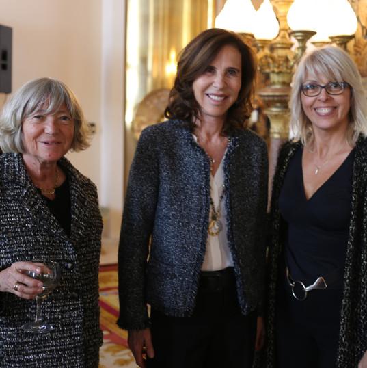 Marie-France Brière, Kareen Rispal et Nancy Béliveau