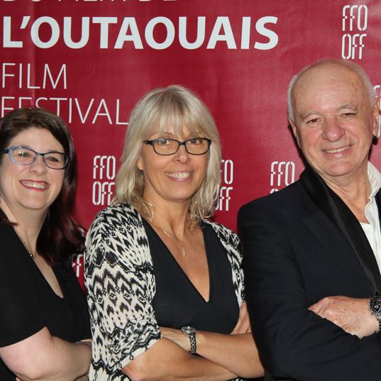 Annie, Nancy et Didier Farré