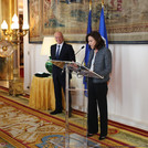 L'ambassadrice de France, Kareen Rispal