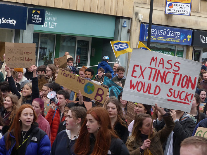 Bristol Youth Strike 4 Climate 14th February 2020