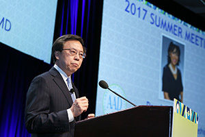 Issue 15 Henry W. Lim, MD, FAAD, President of the American Academy of Dermatology