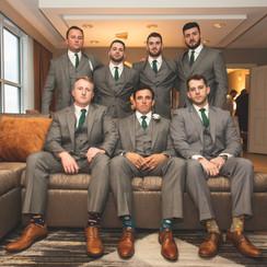 wedding groomsmen photography