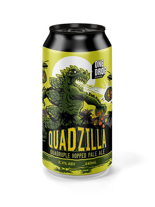Quadzilla - QDH Pale// 4 pack