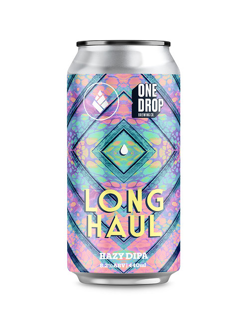 Long Haul Hazy DIPA // 4 Pack