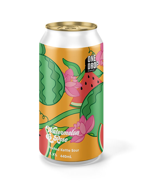 Watermelon & Rose Sour // 4 Pack