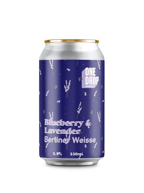 Blueberry& Lavender Berliner Weisse // 4 pack