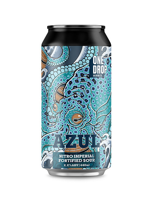 Azul Nitro Imperial Fortified Sour // 4 Pack