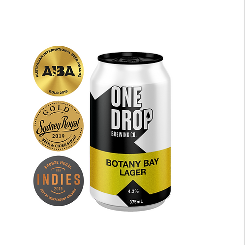 Botany Bay Lager // 4 Pack