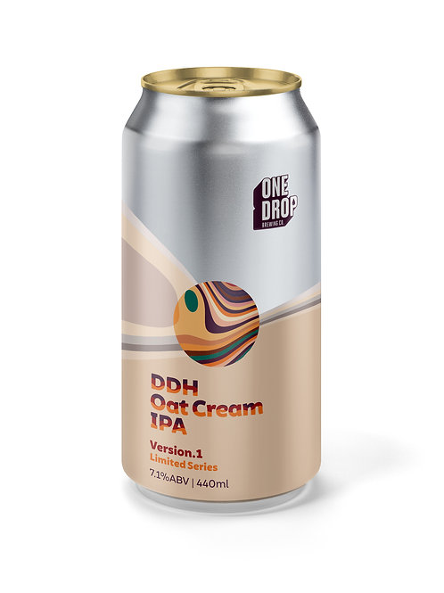 DDH Oat Cream IPA // 4 Pack