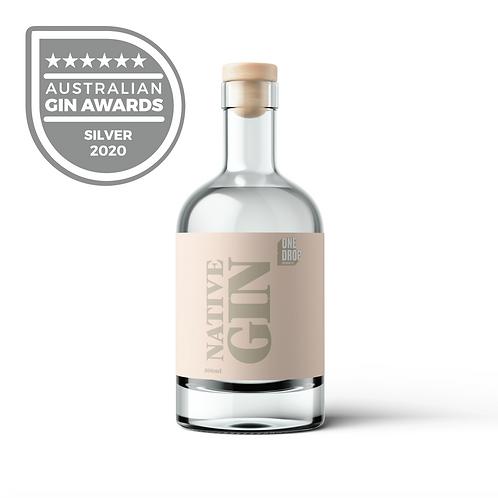 Native Gin 500mL Bottle