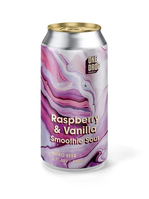 Raspberry+Vanilla Smoothie Sour // 4 Pack