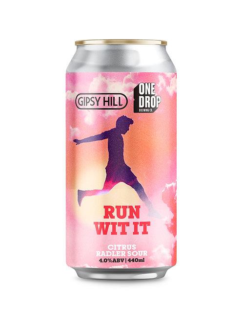 Run Wit It - Citrus Raddler Sour // 4 Pack