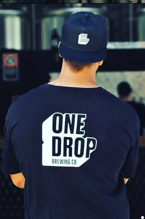 Black Mens One Drop T-Shirts