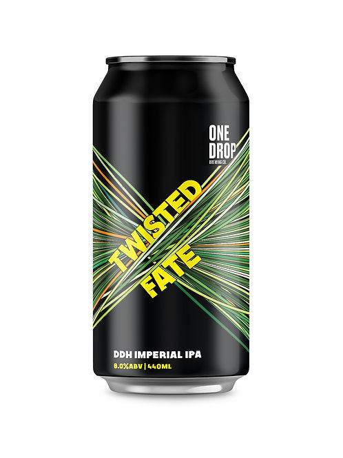 Twisted Fate DDH Imperial IPA // 4 Pack