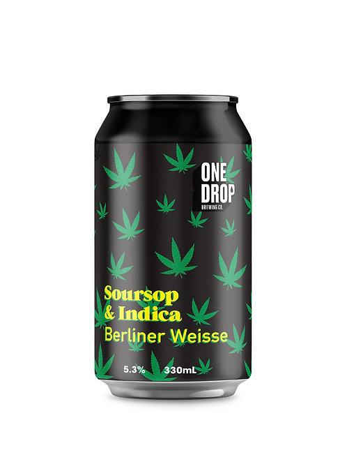 Soursop & Indica Berliner Weisse // 4 Pack