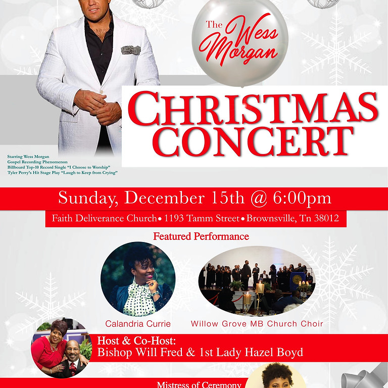 Wess Morgan Christmas Concert