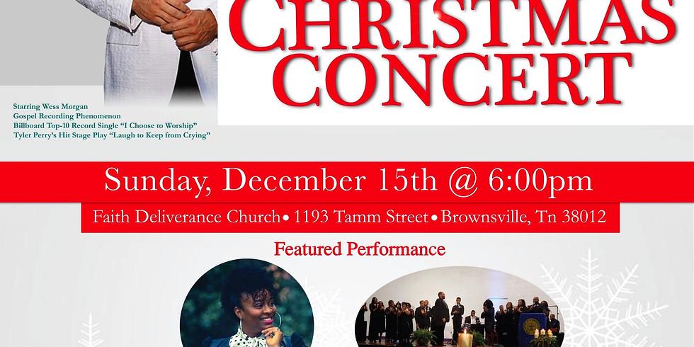 Wess Morgan Christmas Concert