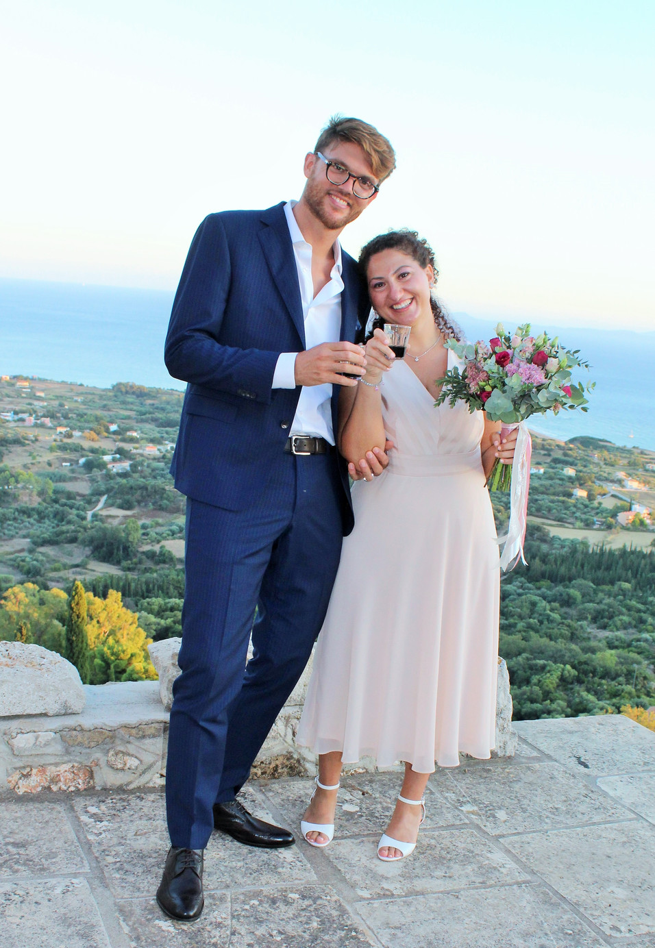wedding at Old Skala Kefalonia