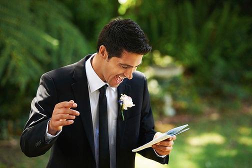 personal bespoke wedding