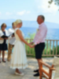 Katy & Paul's weddin in Sami